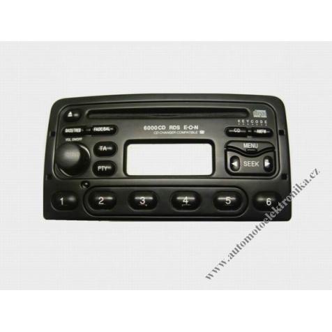 Autorádio Ford 6000 RDS CD