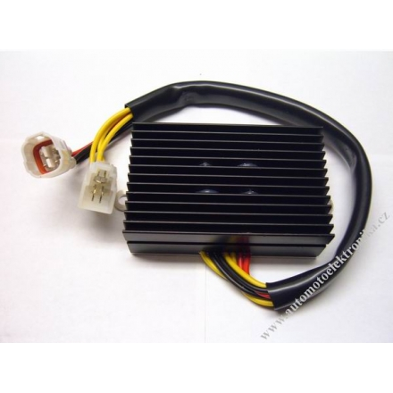 Regulátor dobíjení GSXR600 2006, zdvojené napájení - náhrada