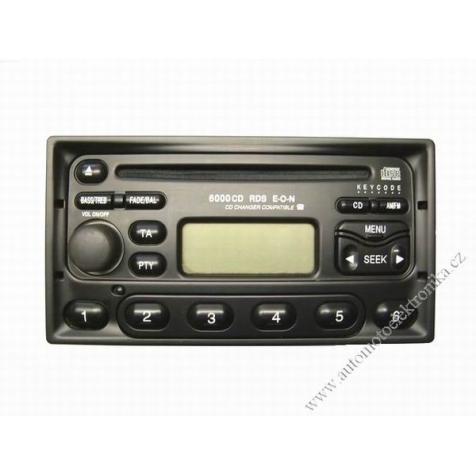 Autorádio Ford 6000 RDS CD Galaxy-nový tuner