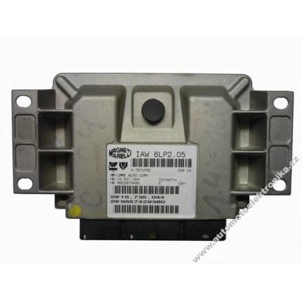 Motorová jednotka Citroen C4 1,4i IAW 6LP2.05 206 606