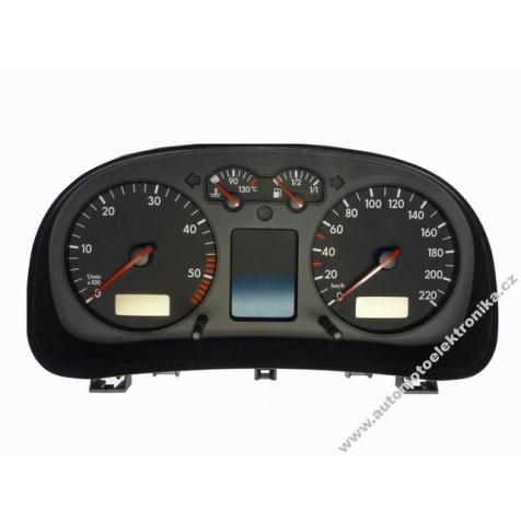 Přístrojová deska VW Golf IV benzin r.v. 98 VDO 1J0 919 860