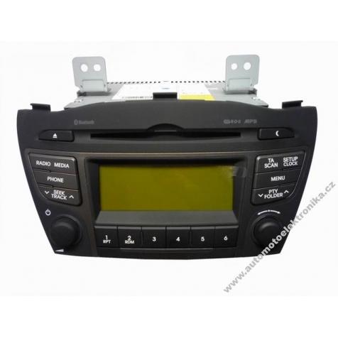 Autorádio Hyundai ix35 r.v.2014 CD MP3 96150-2Y010TJN