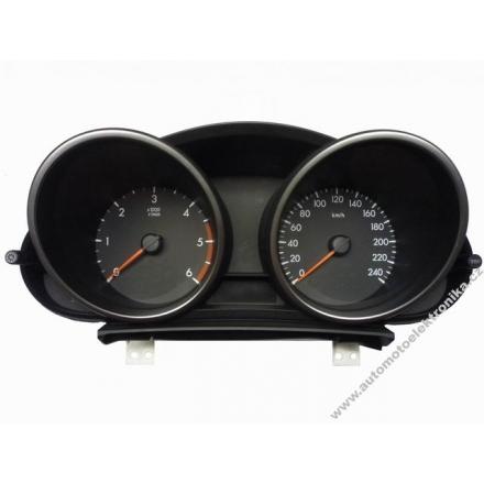 Přístrojová deska Mazda M3 nafta 2010