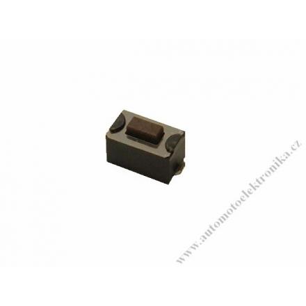 Mikrospínač tlačítko do dálkových ovladačů 6x3,5mm SMD