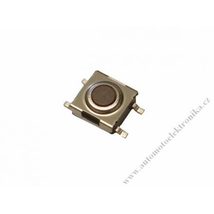Mikrospínač tlačítko do dálkových ovladačů 6,5x6,5mm SMD