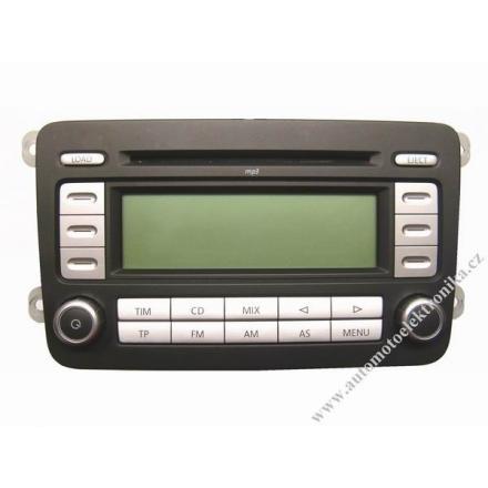 Autorádio VW RCD 500 MP3 na 6xCD