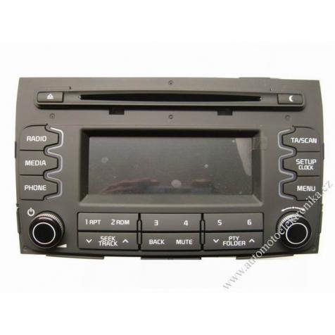 Autorádio KIA Sportage na CD a MP3