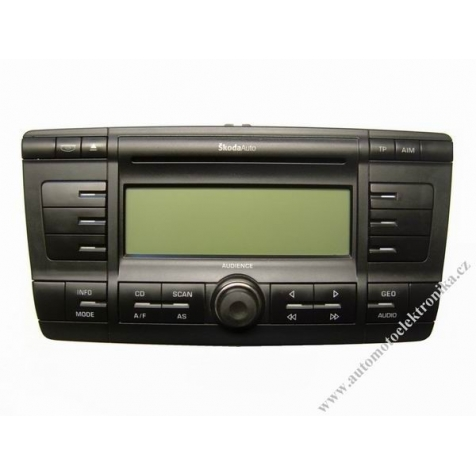 Autorádio Škoda Octavia II Audience 6x CD MP3