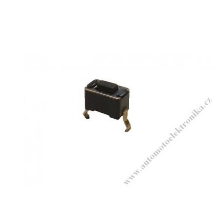 Mikrospínač tlačítko do dálkových ovladačů 6x3,5mm DIL