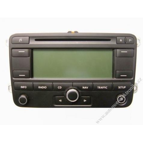 Autorádio VW CD MP3 s navigací Blaupunkt RNS 300