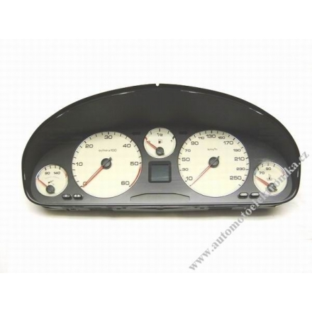 Přístrojová deska Peugeot 607 HDI r.v.04 9653140480