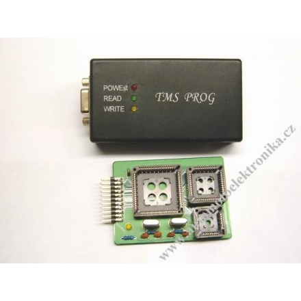 Programátor procesorů TMS370 plcc