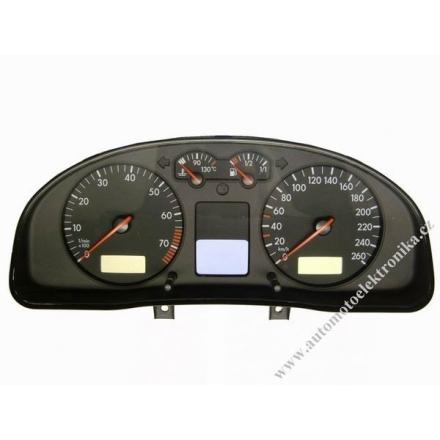 Přístrojová deska VW Passat B5 benzin r.v. 00 VDO 3B0 920 822 polodot