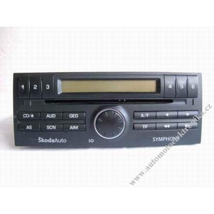 Autorádio Škoda Fabia SYMPHONY CD
