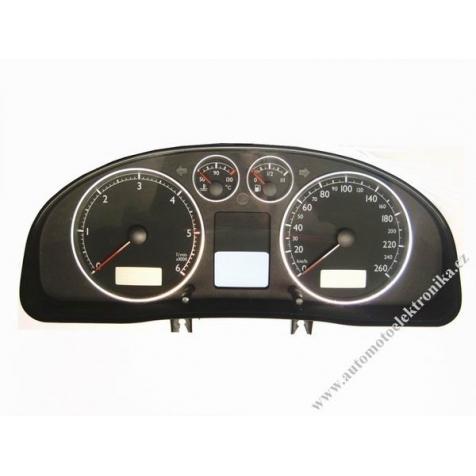 Přístrojová deska VW Passat B5 nafta r.v. 01 VDO 3B0 920 829A polodot