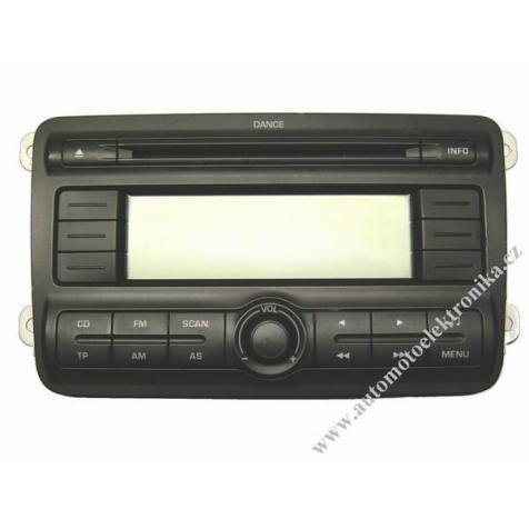 Autorádio Škoda Fabia II Dance CD MP3